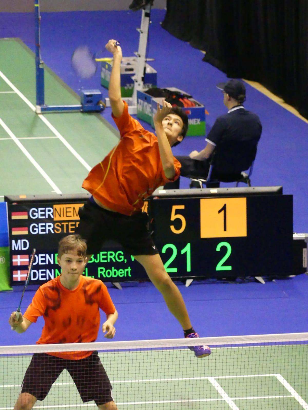 Bruno Sanchez Badminton